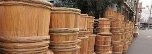 Sake Cedar Barrel