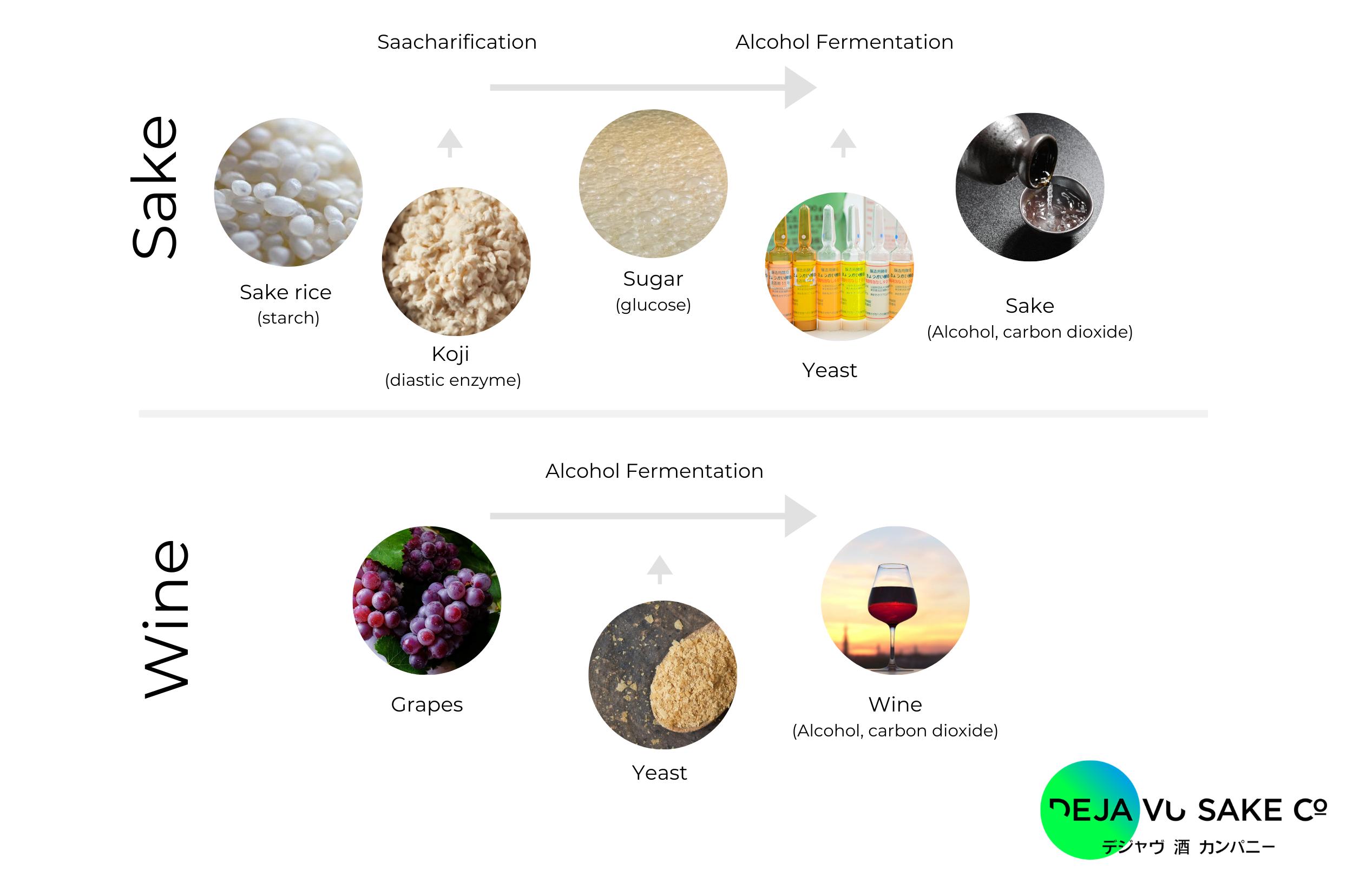 Dejavu Sake Making Process