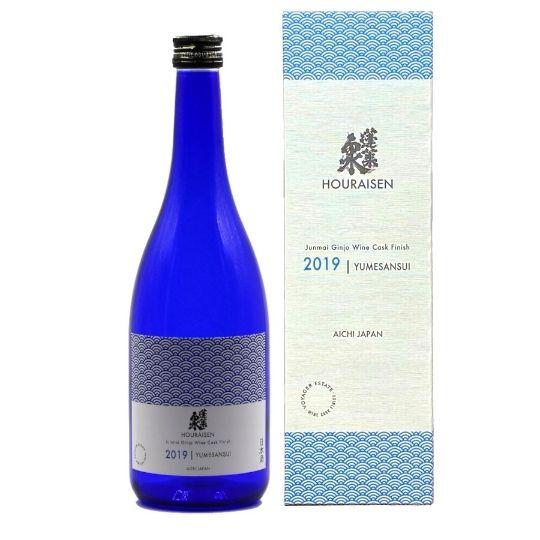 Introducing Houraisen Yumesansui Junmai Ginjo Wine Cask Finish – Ready for Summer 2021